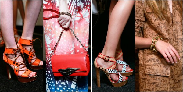 Diane Von Furstenberg весна-лето 2014 на New York Fashion Week