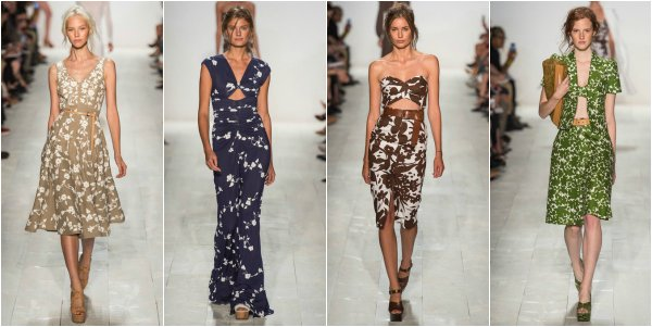 Michael Kors весна-лето 2014 на New York Fashion Week