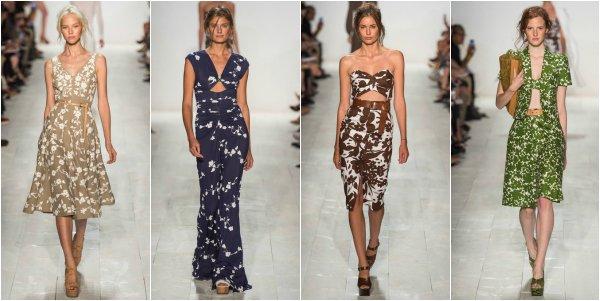 Michael Kors весна-лето 2014 на New York Fashion Week