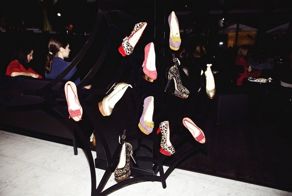 Tea time в рамках открытия shop-in-shop Charlotte Olympia в Sanahunt Luxury Concept Store