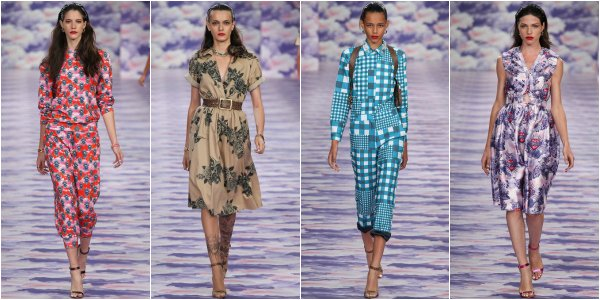 House Of Holland весна-лето 2014 на London Fashion Week