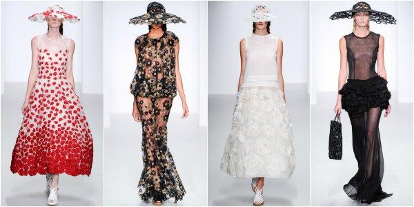 John Rocha весна-лето 2014 на London Fashion Week