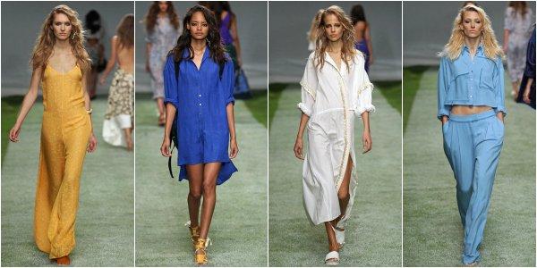 Topshop Unique весна-лето 2014 на London Fashion Week