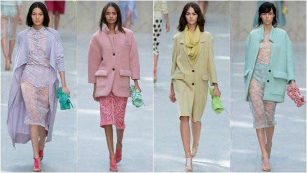 Burberry Prorsum весна-лето 2014 на London Fashion Week