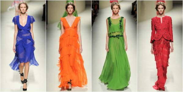 Alberta Ferretti весна-лето 2014 на Milan Fashion Week