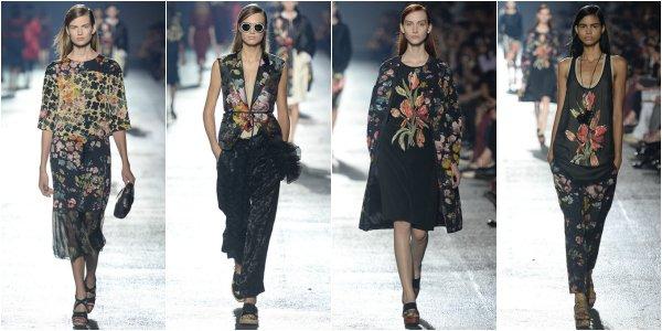 Dries Van Noten весна-лето 2014 на Paris Fashion Week