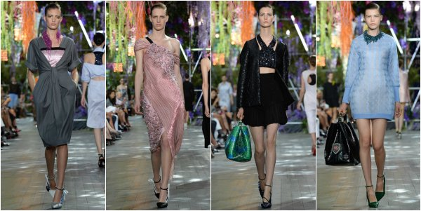 Christian Dior весна-лето 2014 на Paris Fashion Week