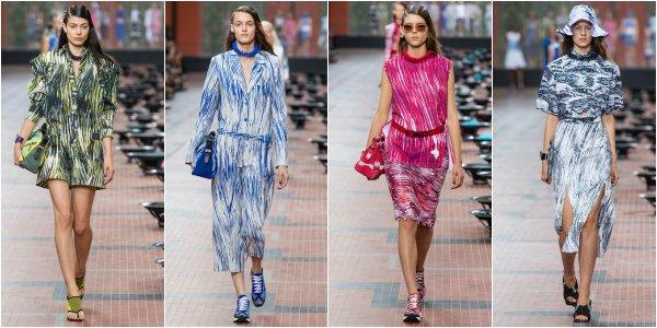 Kenzo весна-лето 2014 на Paris Fashion Week