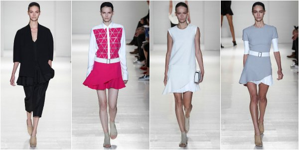 Victoria Beckham весна-лето 2014 на New York Fashion Week