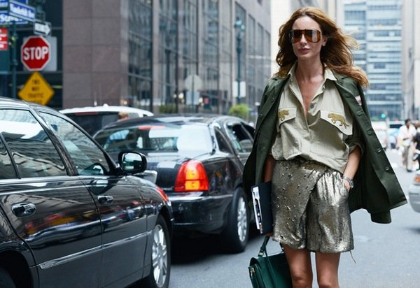 Street style от Томми Тона на Нью-Йоркской Неделе Моды