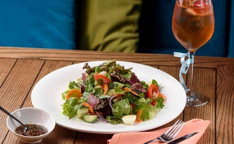 Салат c филе тунца, 135 грн
