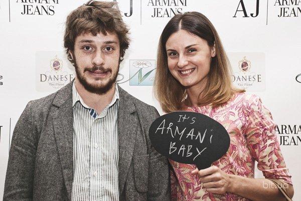 Презентация новой коллекции Armani Jeans осень-зима 2013-2014