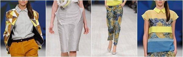 anna bublik весна-лето 2014 на Ukrainian Fashion Week