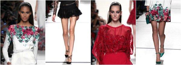 Elie Saab весна-лето 2014 на Paris Fashion Week