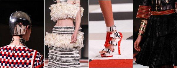 Alexander McQueen весна-лето 2014 на Paris Fashion Week