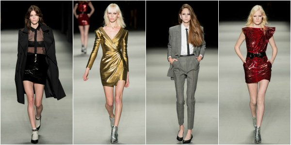 Saint Laurent весна-лето 2014 на Paris Fashion Week