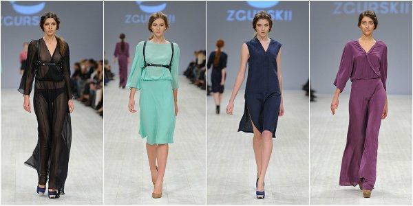 ZGURSKII весна-лето 2014 на Ukrainian Fashion Week