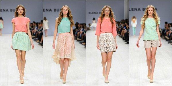Elena BURBA весна-лето 2014 на Ukrainian Fashion Week | bit.ua