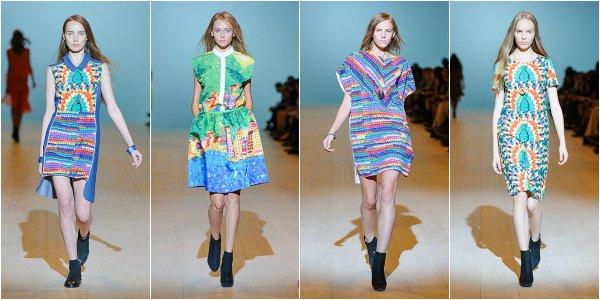 Nadya DZYAK весна-лето 2014 на Ukrainian Fashion Week