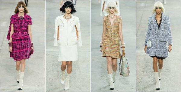 Chanel весна-лето 2014 на Paris Fashion Week