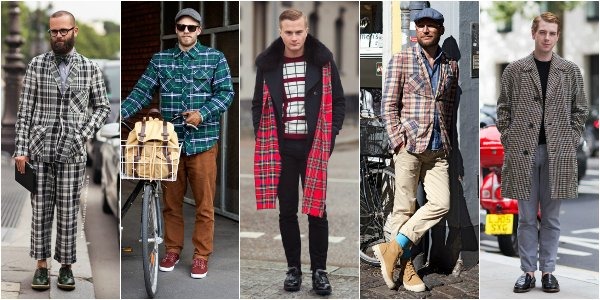 Как это носить: 5 мужских образов с вещами в клетку