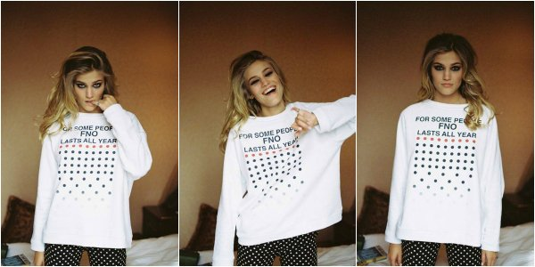 Специальные свитшоты POUSTOVIT для Vogue Fashion's Night Out