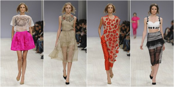 AVTANDIL весна-лето 2014 на Ukrainian Fashion Week