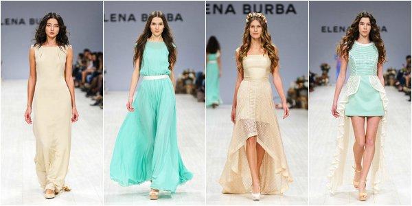 Elena BURBA весна-лето 2014 на Ukrainian Fashion Week