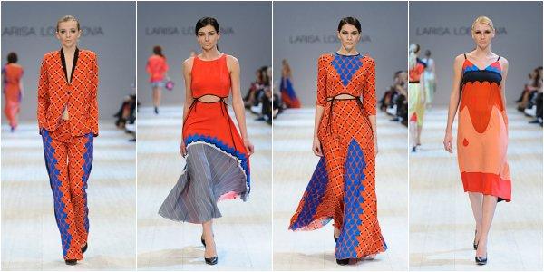 Larisa LOBANOVA весна-лето 2014 на Ukrainian Fashion Week