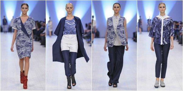 PRZHONSKAYA весна-лето 2014 на Ukrainian Fashion Week
