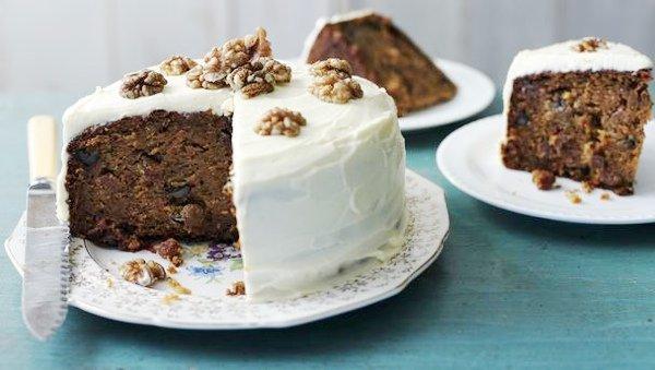 Полезные десерты: морковный пирог