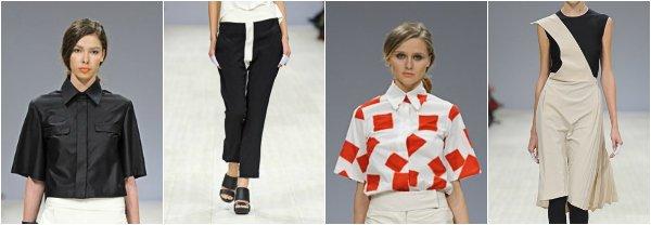 Elena BURENINA весна-лето 2014 на Ukrainian Fashion Week