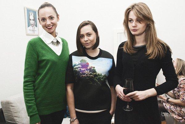 Вечеринка Fashion Night Out Eve в студии PRZHONSKAYA