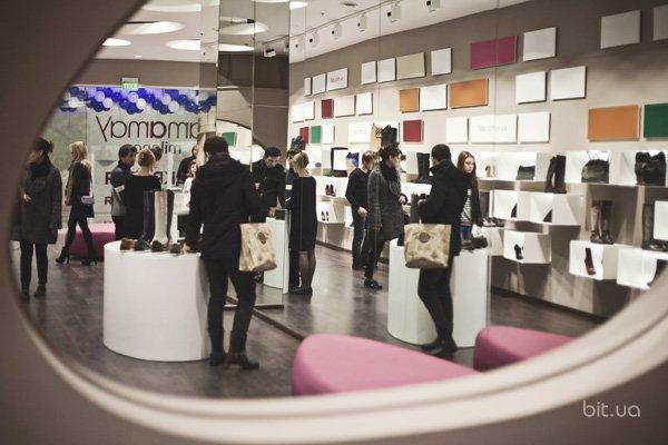 Открытие магазина Fabs в киевском ТРЦ Gulliver