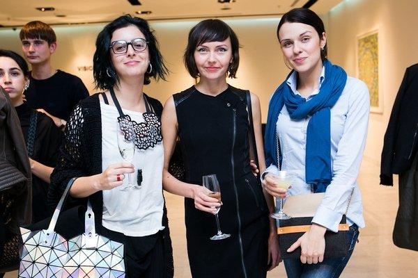 Презентация журнала Interview с Аленой Долецкой в Sanahunt Gallery
