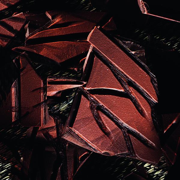 Food-фото: геометрия шоколада