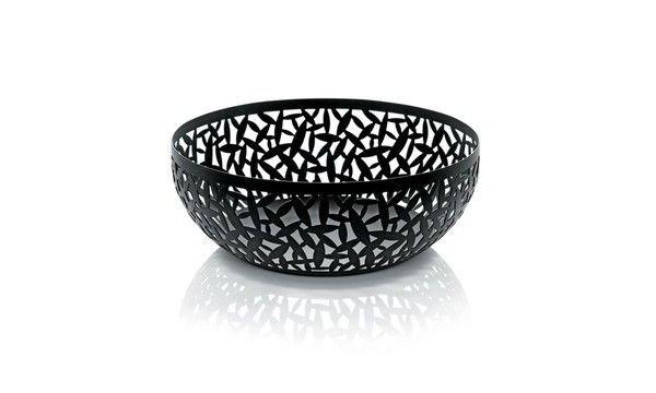 Черная посуда - вазы для фруктов
