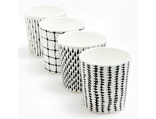 Черное и белое - орнаменты