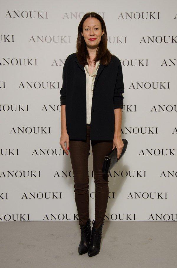 Показ коллекции ANOUKI весна-лето 2014 в галерее М17