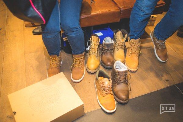 40-летний юбилей желтых ботинок Timberland в Ocean Plaza