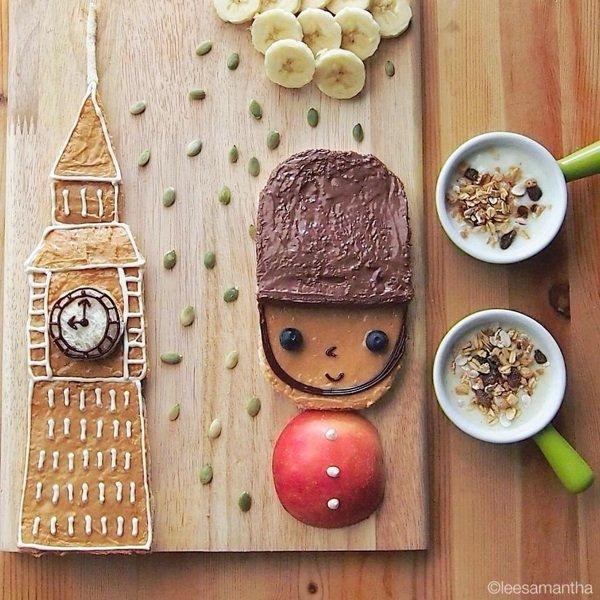 Food-фото: Ли знает, как накормить детей
