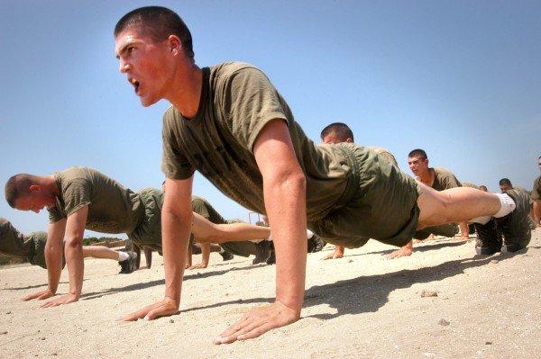 marine-pushups