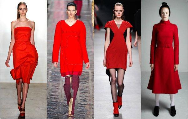 Тренд осень-зима 2013-2014: притягательный и беспроигрышный красный