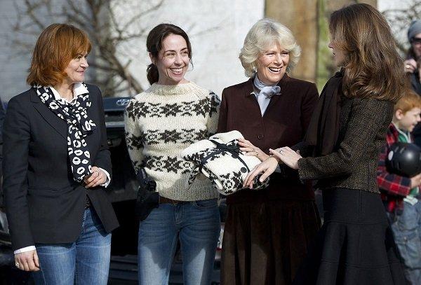 Camilla og prins Charles besøger i Danmark, Kronprinsesse Mary