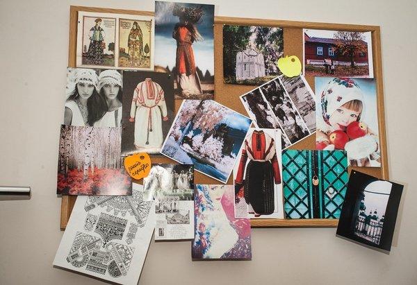 Подготовка новой коллекции Ларисы Лобановой - эксклюзивно на bit.ua