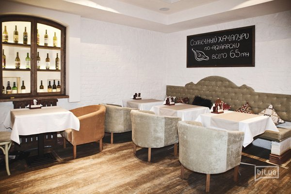 Новое заведение : грузинский дух в ресторане «Чачапури»