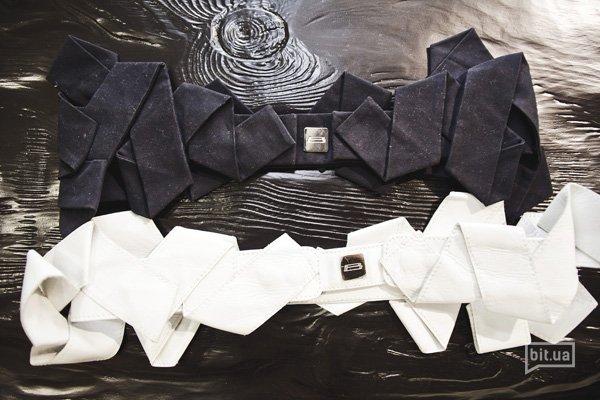 Ремни Bevza: чернильный 1400 грн, белый 1600 грн