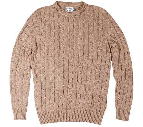 свитер из овечьей шерсти Syndicate, 680 грн