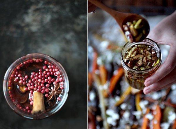Полезные десерты: ореховый микс с медом и пряный зимний сироп