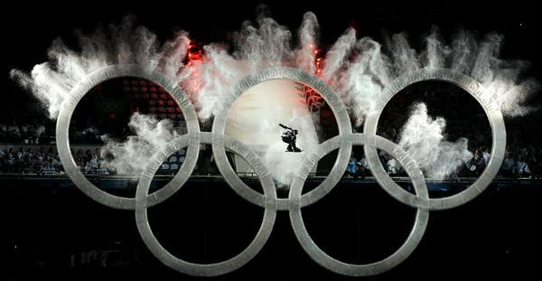 AFP PICTURE OF THE YEAR 2010 A snowboard